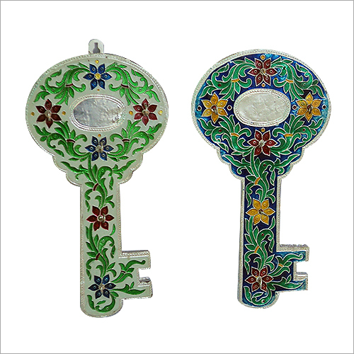 Meenakari Handcrafted Key