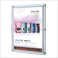 LED Light Panel - Scrolling Screen with Display