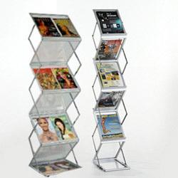 Catalogue Stand - Zig Zag