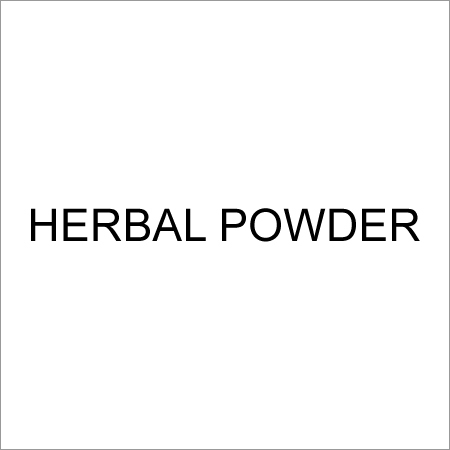 Herbal Medicine Powder