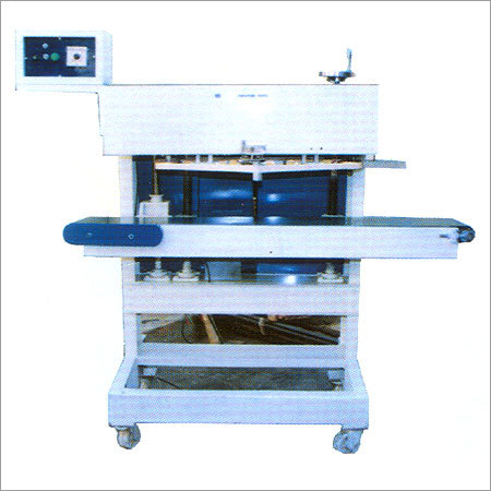 Continuous Band Heat Sealer For Bags And Industrial Products