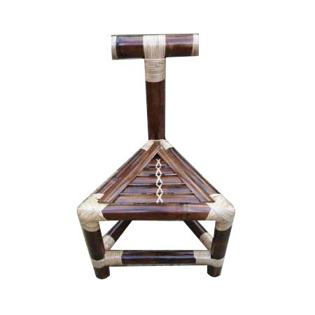 Triangle Bamboo Chair