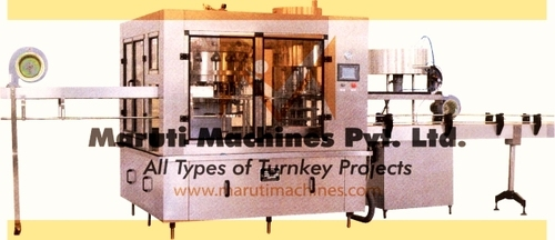 Online Bottle Filling & Capping Machine