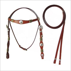 Leather Western Headstall