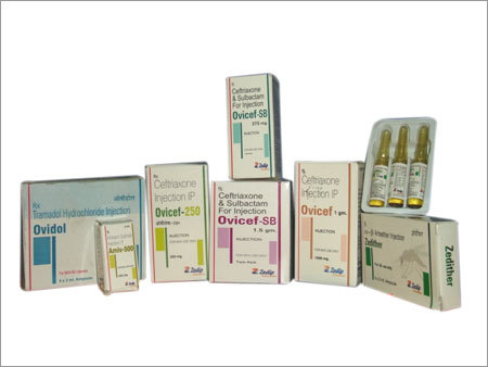 Parenteral Injectables Range