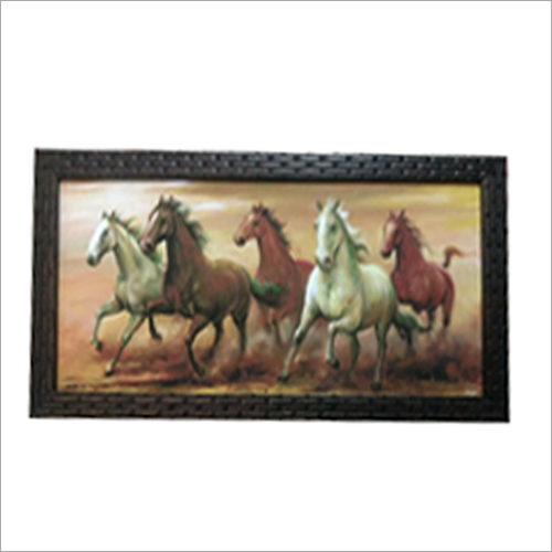 Photo Frame Handmade Painting