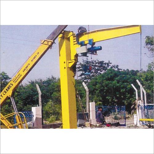 5 Ton Jib Crane Application: Industrial