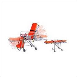 Chair Stretcher Trolley in Noida, Uttar Pradesh - MOBILE HOSPITAL
