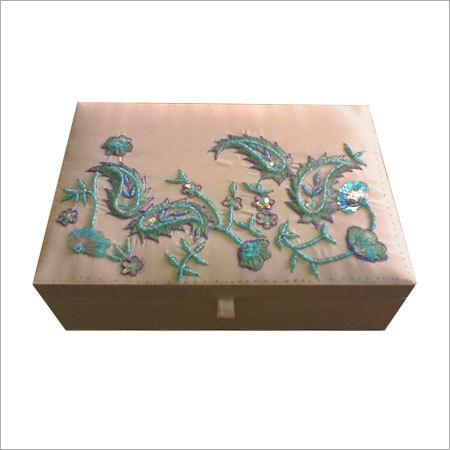 Beaded Jewellery Boxes