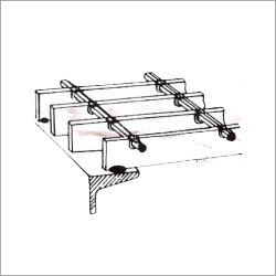 Arc Grating Clamps Type - D