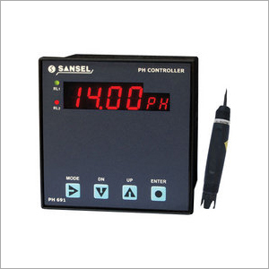 On Line Ph Or Orp Or Temperature Indicator