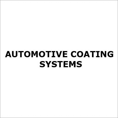 Automotive Coating Systems