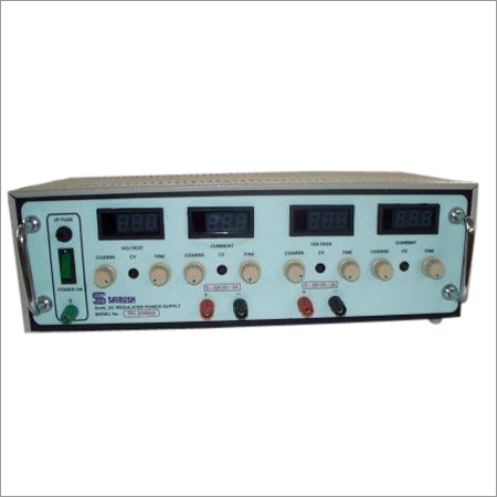 Continuously Variable Dual Output Power Supplies