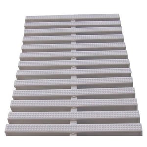 White Color PP Swimming Pool Grating