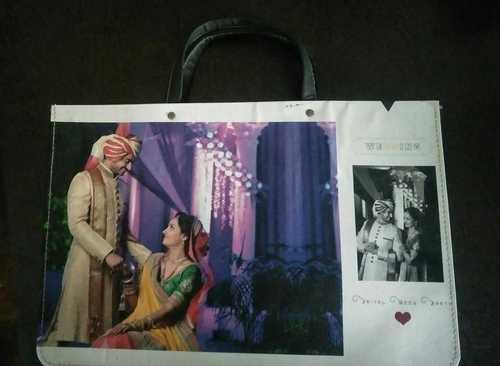 Printed Album Carry Bag