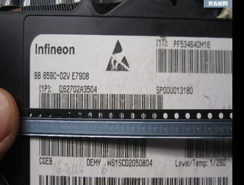 Heat Proof Infineon Mosfet (N-Chbsr302n Bsr802nl6327 Bss126)