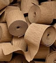 Insulating Crepe Paper Roll