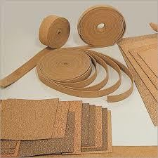 Natural Rubberized Cork Sheets