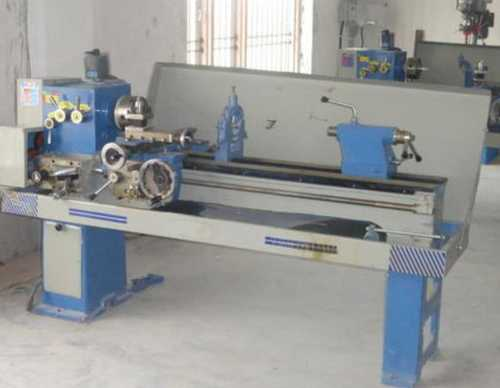 Semi Automatic Geared Lathe Machine