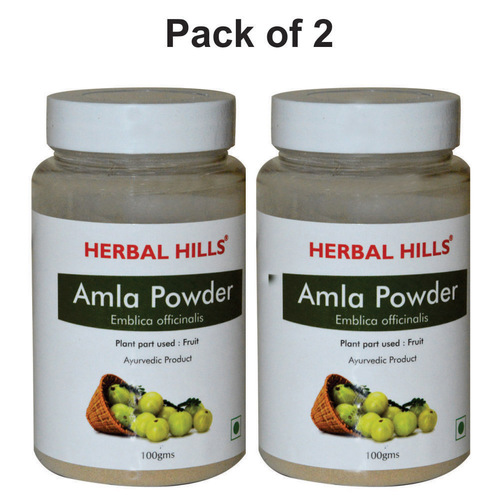 Herbal Amla Powder 100gm For Immunity Support And Digestive Health (Pack Of 2)