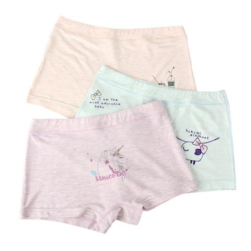 Kids Underwear Printed Cotton Panties