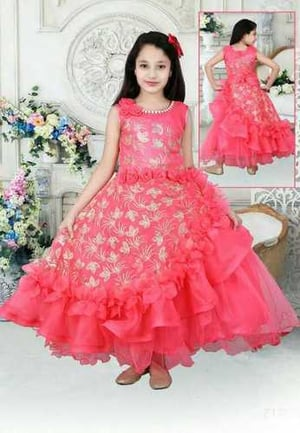 Party Wear Girls Gown