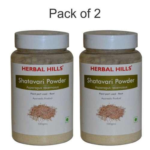 Ayurvedic Shatavari Powder 100gm For Women's Health (Pack Of 2)