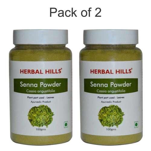 Ayurvedic Senna Powder 100gm For Detoxification (Pack Of 2)