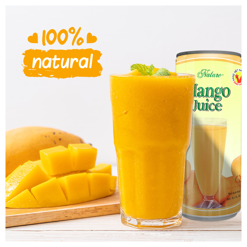 Fresh Mango Juice Drink Alcohol Content (%): No