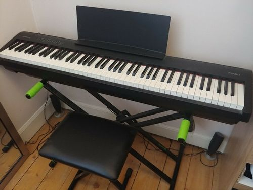 Roland Fp 30 Digital Piano With Ksc70bk Stand Triple Pedal At Best Price In Bengaluru Karnataka Subhash Electronics