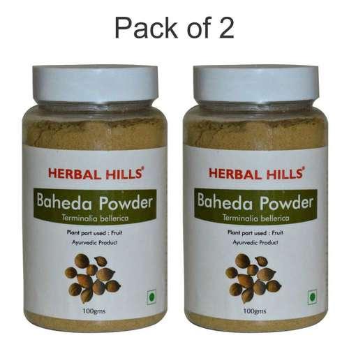 Ayurvedic Baheda Powder 100gm For Healthy Digestion (Pack Of 2)