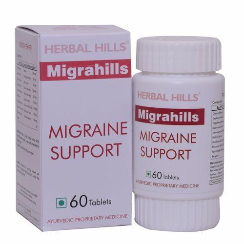 Ayurvedic Migrahills 60 Tablets For Migraine