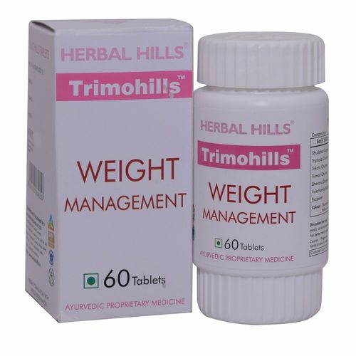 Ayurvedic Slimming Trimohills 60 Tablets For Weight Loss