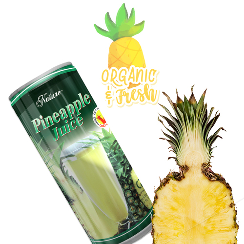 Fresh Pineapple Juice Can Alcohol Content (%): No