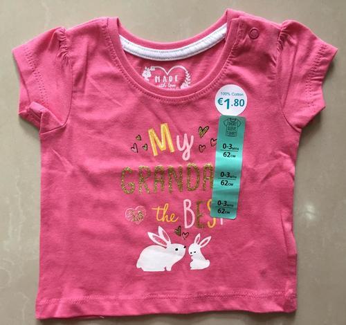 Girls Stylish Cotton T-Shirts
