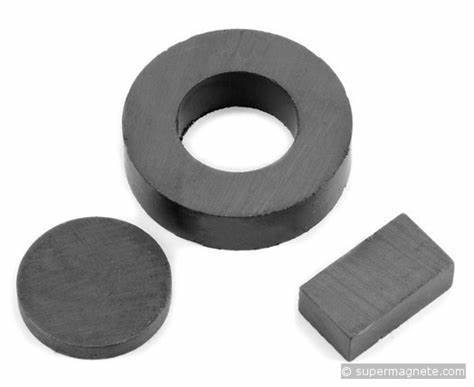 Strontium And Barium Ferrite Magnets Application: Industrial Use