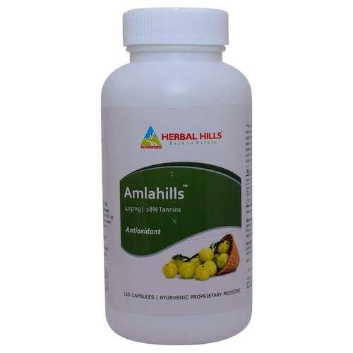 Amla Amlahills 120 Capsule For Healthy Hair & Digestion