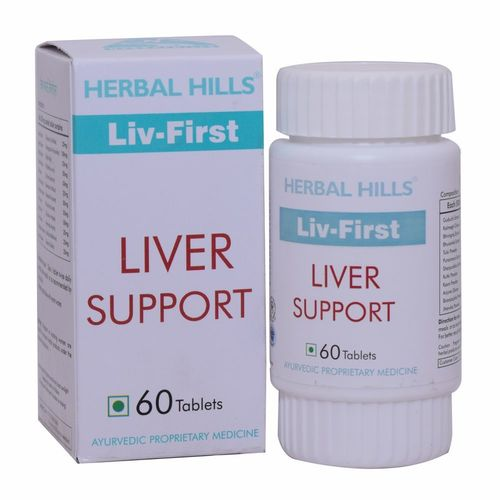 Ayurvedic Liver Care Livfirst 60 Tablets