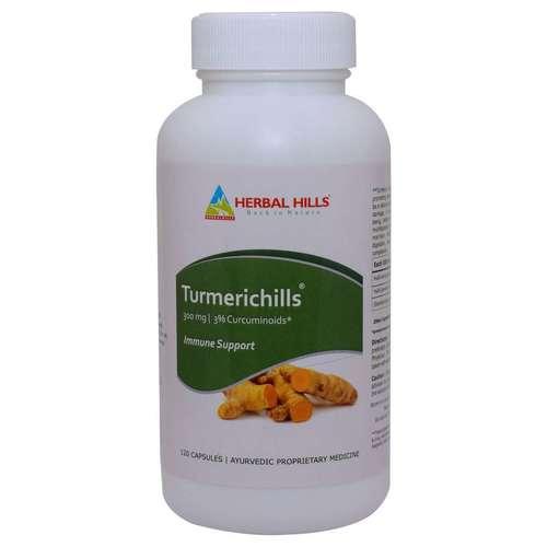 Ayurvedic Turmeric 120 Capsule For Immunity Booster - Skin Care Capsule