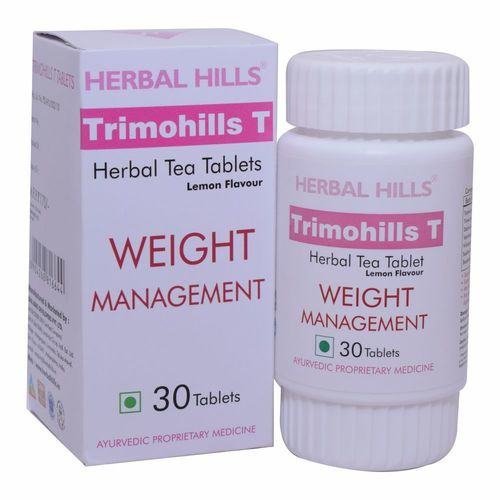 Ayurvedic Weight Loss - Trimohills T - 30 Tablets With Lemon Flavour