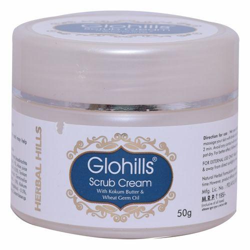 Herbal Face Scrub - Glohills Scrub Cream