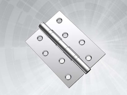 Silver Stainless Steel Ball Bearing Hinges