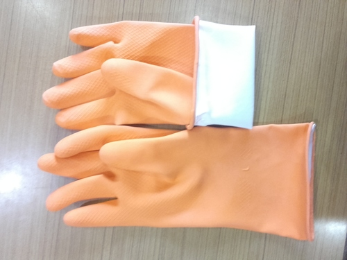 Household Rubber Safety Hand Gloves