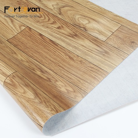 Piso Covering With Felt Backing Rolls Parquet Certifications: Sgs