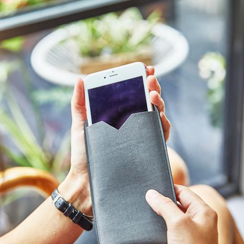 Flygons Suede-Like Waterproof Phone Storage Bag