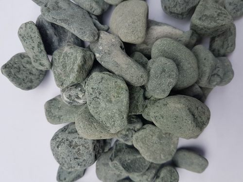 Green Marble Pebbles Stone
