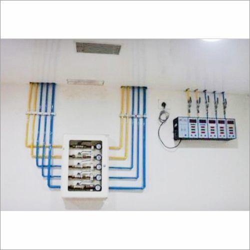 Oxygen Gas Pipeline System Installation