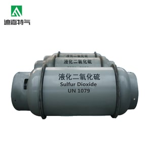 Sulfur Dioxide Gas in Cylinders SO2 Gas