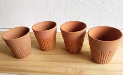 Brown Highly Durable Kulhad Cup
