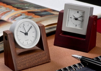Rolling Round Clocks for Table